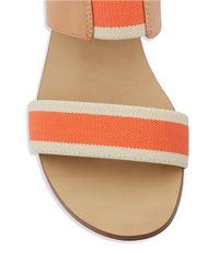 Splendid   Orange Coldwater Slingback Sandals   Lyst
