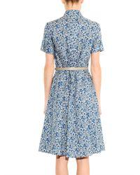 Weekend by Maxmara - Blue Egemone Dress - Lyst
