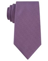 Kenneth Cole Reaction - Purple Two-color Micro Tie for Men - Lyst
