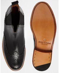Foot The Coacher - Black Jacob Chelsea Boots for Men - Lyst