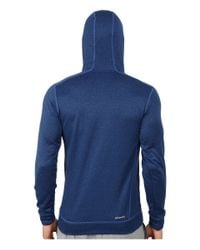 Adidas | Blue Ultimate Fleece Pullover Hoodie-illuminated Screen for Men | Lyst