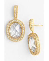 Freida Rothman | Metallic 'the Standards' Drop Earrings | Lyst