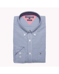 Tommy Hilfiger | Blue Big & Tall Shirt for Men | Lyst