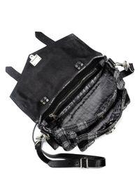 Proenza Schouler   Black Medium Leather Bag   Lyst