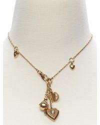 Banana Republic | Metallic Vintage Charm Necklace | Lyst