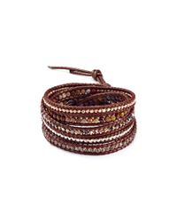 Chan Luu | Multicolor Beaded Wrap Bracelet | Lyst
