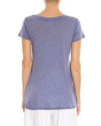 Wildfox - Gray Cat Nap T-shirt - Lyst