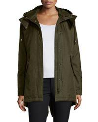 Spiewak | Green Eskimo Fishtail Parka Coat | Lyst
