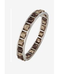 French Connection | Multicolor Woven Leather Bangle | Lyst