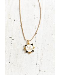 Urban Outfitters - Multicolor Stateside Charm Necklace - Lyst