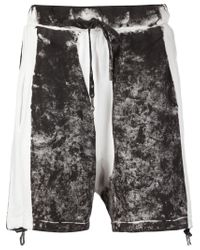 Boris Bidjan Saberi 11 - Black Outline Seam Shorts for Men - Lyst
