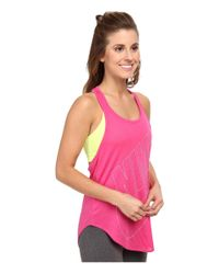 Nike - Pink Signal Relaxed Tank - Lyst