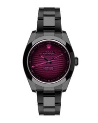 Bamford Watch Department | Pink Black Rolex Milgauss Aftershock | Lyst