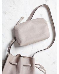 Free People | Natural Bleeker Bucket Bag | Lyst