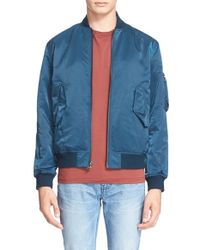 BLK DNM - Blue 'jacket 93' Bomber Jacket for Men - Lyst