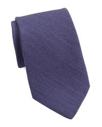 Michael Kors | Purple Wool And Silk Tie for Men | Lyst