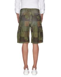 Franklin & Marshall - Multicolor Bermuda Shorts for Men - Lyst