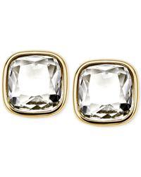 Michael Kors - Metallic Crystal Stud Earrings - Lyst