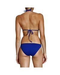 Ralph Lauren Blue Label | Blue Swimwear Bikini Triangle Large Pony | Lyst