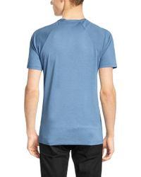 HUGO Blue 'draper' | Cotton Lyocell T-shirt for men