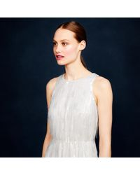 J.Crew - Natural Collection Beaded Fringe Dress - Lyst