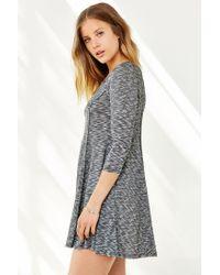 BDG | Gray Camp Sweater Dress | Lyst