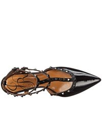 J. Reneé | Black Olyvia Too Studded Heel Sandal | Lyst