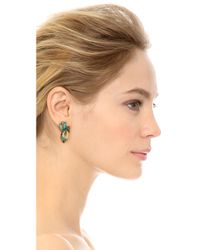 Elizabeth Cole | Blue Vale Earrings - Turquoise Mix | Lyst