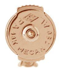 Stone - Metallic Infinity Button Diamond Stud Earring - Lyst