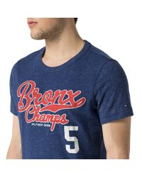 Tommy Hilfiger | Blue Turpin T Shirt for Men | Lyst