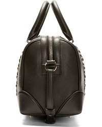 Givenchy | Black Patent Leather Pandora Bag | Lyst