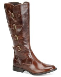 Born | Brown Cuatros Tall Boots | Lyst