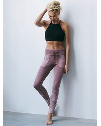 Free People | Pink Fp Movement Womens Kyoto Legging | Lyst