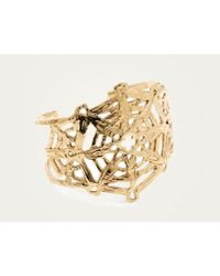 Odette New York | Metallic Gold Mandala Cuff Brass | Lyst