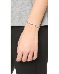 Vita Fede - Metallic Divisio Crystal Bracelet - Lyst