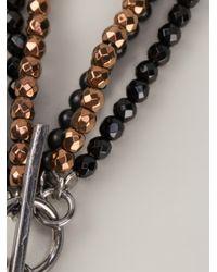 Brunello Cucinelli | Metallic Lariat Necklace | Lyst