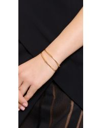 Gorjana - Metallic Tira Cuff Bracelet - Gold - Lyst