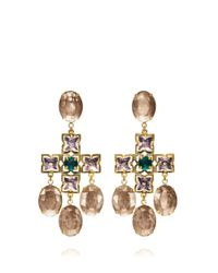 Tory Burch | Multicolor Abella Statement Earring | Lyst