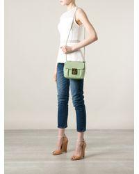 Chloé - Green 'Elsie' Shoulder Bag - Lyst