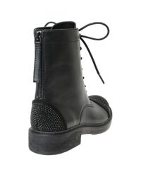 William Rast | Black Wendy Military Lace-up Boots for Men | Lyst