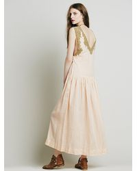 Free People | Pink Mes Demoiselles Paris Womens Nymphe Maxi Dress | Lyst