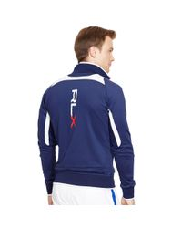 "Ralph Lauren - Blue ""rlx"" Full-zip Track Jacket for Men - Lyst"