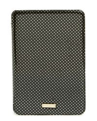 kate spade new york | Black 'tiny Gold Dot' Ipad Mini & Ipad Mini 3 Folio Case | Lyst