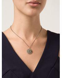 Ileana Makri | Metallic 'dawn' Pendant Necklace | Lyst