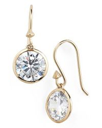 Melinda Maria | Metallic 'jema' Drop Earrings | Lyst