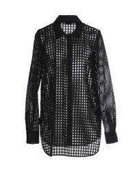 Sonia by Sonia Rykiel - Black Shirt - Lyst
