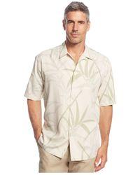 Tommy Bahama | White Vine-print Silk Shirt for Men | Lyst