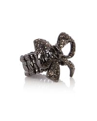 Coast | Gray Bow Ring | Lyst