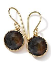 Ippolita - Metallic 18k Gold Rock Candy Mini Lollipop Earrings - Lyst