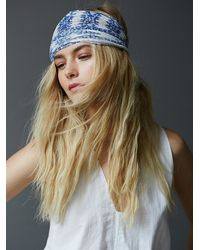 Free People | Blue Myna Headband | Lyst